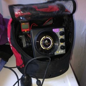 Vexilar FLX-20 ProPack Flasher. Used three times